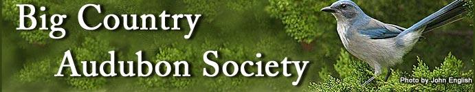 Big Country Audubon Society