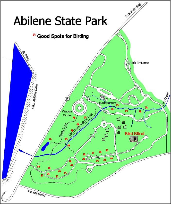 Big Country Audubon Society Abilene State Park