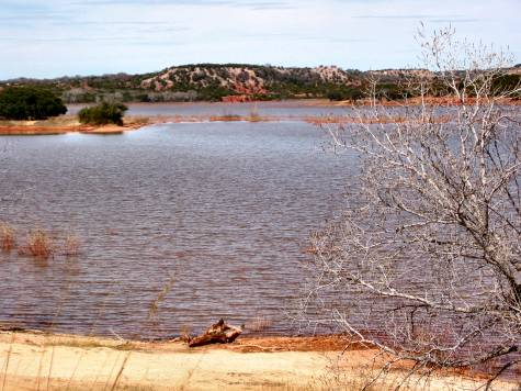 Lake Abilene in Winter